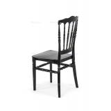 Krzesło ślubne CHIAVARI NAPOLEON czarne