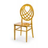Krzesło ślubne CHIAVARI KING złote
