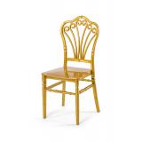 Krzesło ślubne CHIAVARI LORD złote