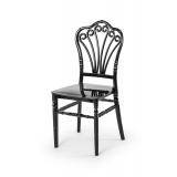 Krzesło ślubne CHIAVARI LORD czarne