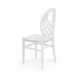 Krzesło ślubne CHIAVARI KING białe