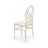 Krzesło ślubne CHIAVARI KING perłowe