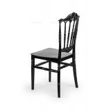 Krzesło ślubne CHIAVARI PRINCESS czarne