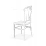 Krzesło ślubne CHIAVARI QUEEN białe