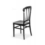 Krzesło ślubne CHIAVARI QUEEN czarne