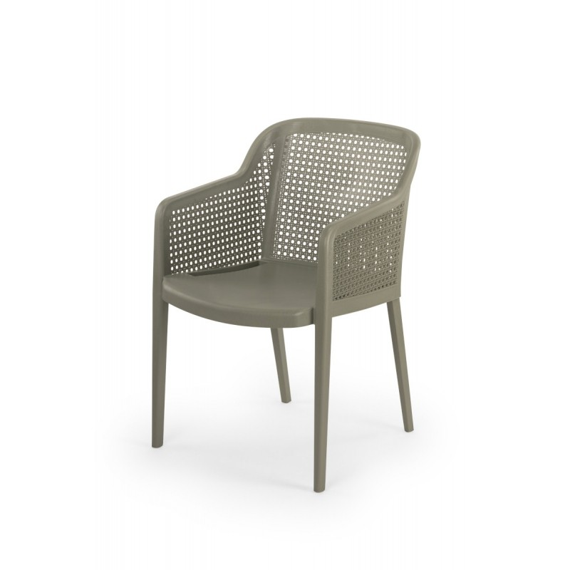 Krzesło do ogródków piwnych CARLO szare