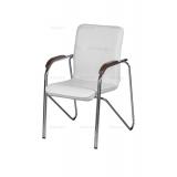 Krzesło konferencyjne SAMBA CR NA2550 ciepła biel