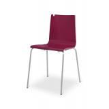 Krzesło konferencyjne LUNGO CR bordo