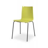 Krzesło konferencyjne LUNGO BL limonka