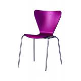 Krzesło konferencyjne MOCHA CR bordo