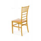 Krzesło ślubne CHIAVARI TIFFANY złote
