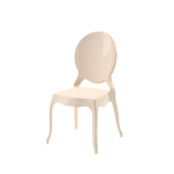Krzesło dla pary młodej MEDALION kremowe