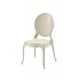 Krzesło dla pary młodej MEDALION beżowe