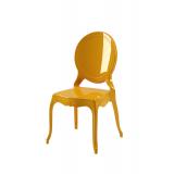 Krzesło dla pary młodej MEDALION złote