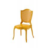 Krzesło dla pary młodej AMOR złote