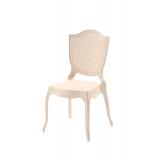 Krzesło dla pary młodej AMOR kremowe
