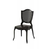 Krzesło dla pary młodej AMOR czarne