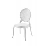 Krzesło dla pary młodej DIANA białe