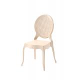 Krzesło dla pary młodej DIANA kremowe