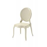 Krzesło dla pary młodej DIANA beżowe