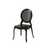 Krzesło dla pary młodej DIANA czarne