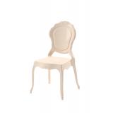 Krzesło dla pary młodej LUNA kremowe