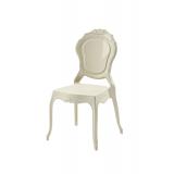 Krzesło dla pary młodej LUNA beżowe