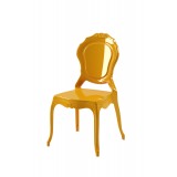 Krzesło dla pary młodej LUNA złote