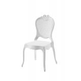Krzesło dla pary młodej ZEUS białe