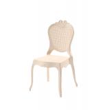 Krzesło dla pary młodej ZEUS kremowe