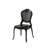 Krzesło dla pary młodej ZEUS czarne