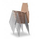Krzesło konferencyjne LUNGO buk