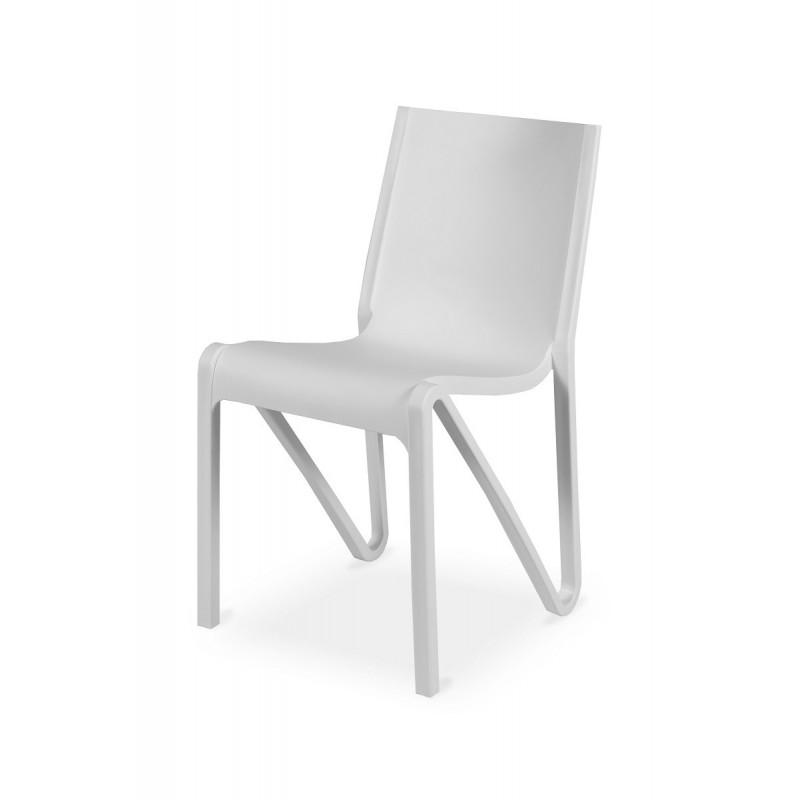 Krzesło konferencyjne BOOM białe
